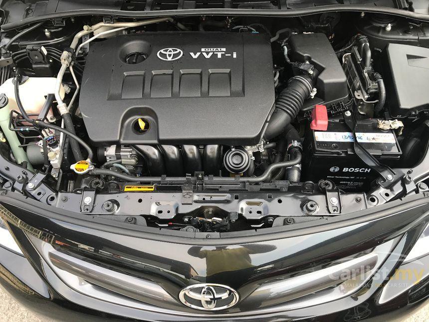 Toyota Corolla Altis 2010 V 2 0 in Selangor Automatic Sedan Black for RM  52,800 - 3857128 - Carlist my