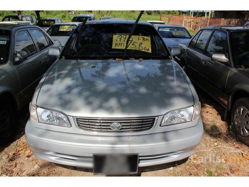 Toyota Corolla 1998 GLi 13 in Kedah Manual Sedan Silver for RM