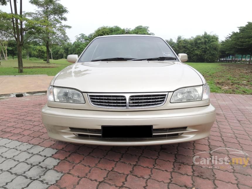 toyota corolla 2000 seg 1.6 in penang automatic sedan gold for rm