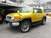(ORI 11)(GST INCLUSIVE)(NO OFF ROAD)(FJ CRUISER)(HIGH SPEC)