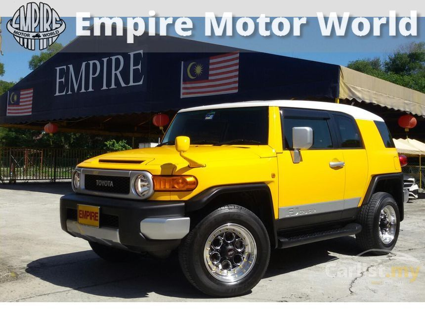 Toyota Fj Cruiser In Selangor Automatic Suv Yellow For Rm