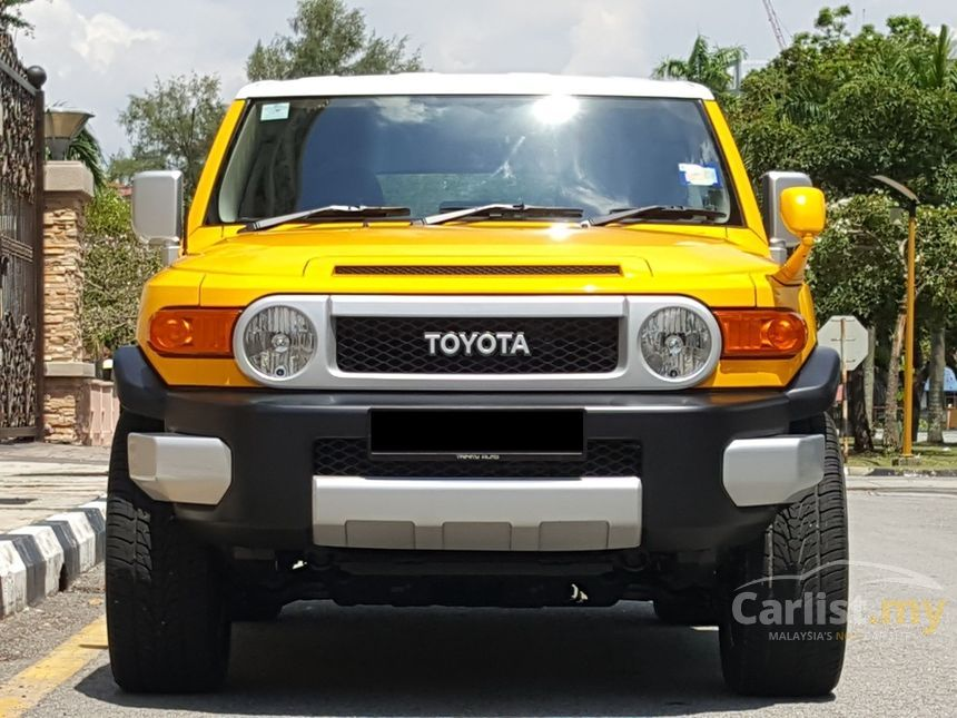 Toyota Fj Cruiser In Penang Automatic Suv Yellow For Rm