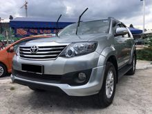 2012 Toyota Fortuner 2.5 G TRD Sportivo (A) DIESEL TURBO ** SPECIAL OFFER ** PRICE STILL NEGOTIABLE ** CALL FOR MORE INFORMATION **