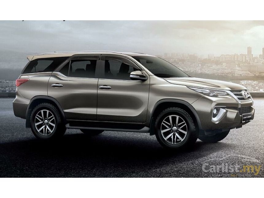 Toyota Fortuner 2017 Srz 2 7 In Kuala Lumpur Automatic Suv Grey For Rm 172 500 3525139