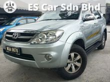 Toyota Fortuner 2.7(A) services record by toyota 2007  ONE CAREFUL OWNER SUPER CLEAN INTERIOR CAR KING CONDITION