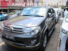 GST FREE TRUE YEAR MADE 2009 Toyota Fortuner 2.7 (A) NEW FACELIFT TRD