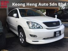 GST INCLUDED Toyota Harrier 2.4 240G Electric seat Ori Camera