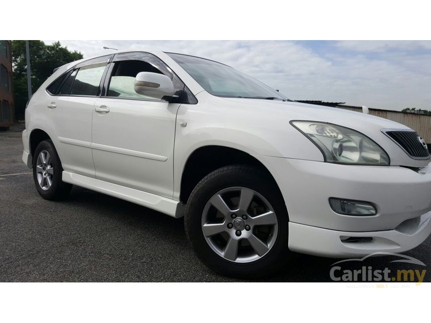 toyota harrier 2006 240g premium l 2 4 in kuala lumpur automatic suv white for rm 56 800. Black Bedroom Furniture Sets. Home Design Ideas
