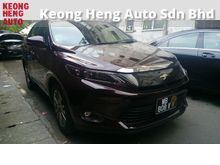 GST INCLUDED Toyota Harrier 2.0 New Model Premium High Spec Power Boot Chrome rims