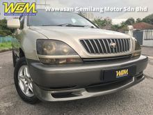 2000 Toyota Harrier 2.2 SUV (A) FULL SPEC # LEATHER SEAT # SUNROOF # ORI PAINT # FREE ACCIDENT # PERFECT CONDITION LIKE NEW # NEGOTIABLE PRICE