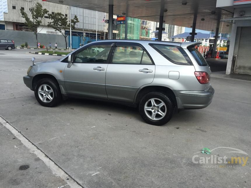 Toyota Harrier In Kuala Lumpur Automatic Suv Silver For