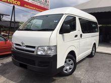 2008 Toyota Hiace 2.7 HIGH ROOF WINDOW Van