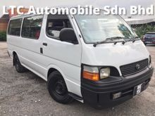 2005 Toyota Hiace 3.0 Van (M) DIESEL 14SEATS TIPTOP CONDITION COME TO TEST DRIVER WELCOME
