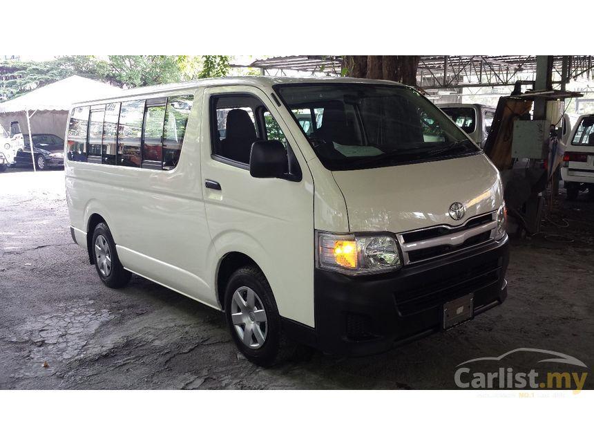 Toyota Hiace 2012 2 5 In Kuala Lumpur Manual Van White For