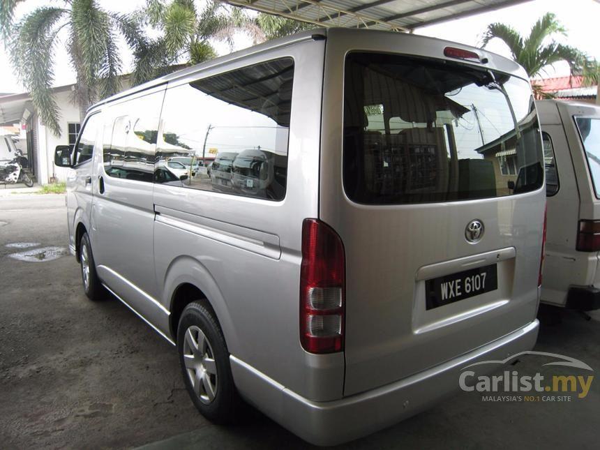 Toyota Hiace 2012 Panel 2 5 In Selangor Manual Van Silver