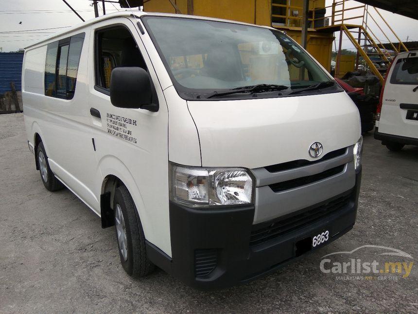 Toyota Hiace 2014 Panel 25 in Selangor Manual Van White for RM