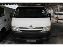 2006 Toyota Hiace 2.5 Panel Van (M)