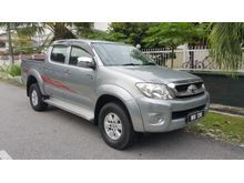 2011 Toyota Hilux 2.5 G Turbo Diesel Clearance Stock