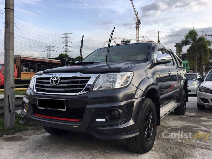 toyota hilux 2015 g trd sportivo vnt 2.5 in selangor automatic IA42