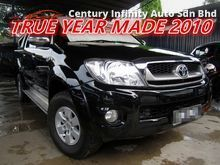 Toyota Hilux 2.5 G (M) 4X4 , ONE OWNER , NEVER OFF ROAD , REVERSE CAMERA , PROVIDE WARRANTY (YEAR MADE 2010)