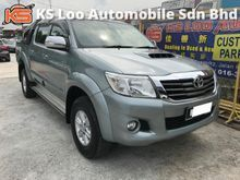 Toyota Hilux 2.5 G 4x4 (M) VNT INTERCOOLER - UNDER WARRANTY BY TOYOTA - FULL SERVICE RECORD - SELLING CHEAP IN 1 MALAYSIA
