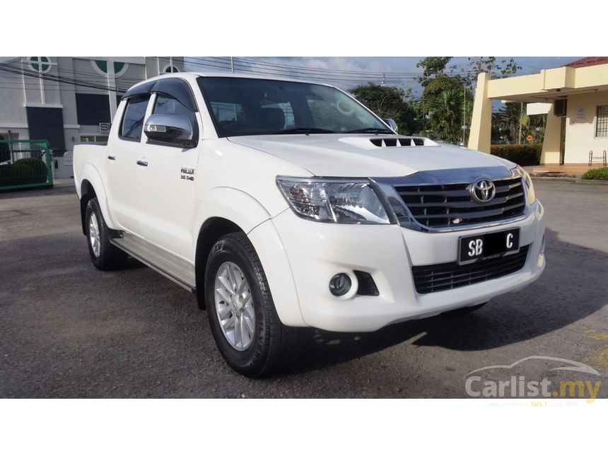 Toyota Hilux 2014 G VNT 3.0 in Sabah Automatic Pickup Truck White ...