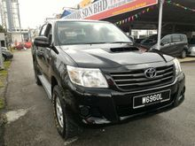 2013 Toyota Hilux 2.5 DEISEL (M) 4X4 DOUBLE CAB TURBO INTERCOOLER GOOD CONDITION