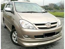 2008 Toyota Innova 2.0 G (A) TIP TOP LIKE NEW