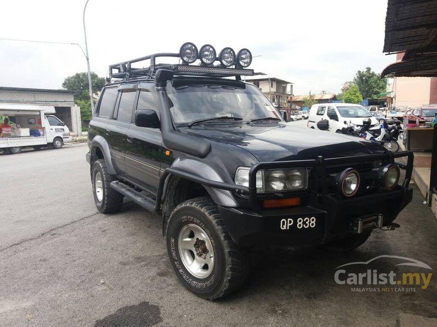Toyota Land Cruiser Ninja In Selangor Automatic Suv Black