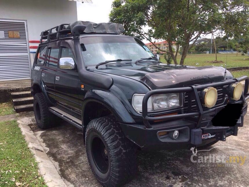 Toyota Land Cruiser Vx In Sabah Automatic Suv Green For
