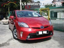 2013 Toyota Prius 1.8 Hybrid Luxury Leather Seats JBL Sound System Low Mileage Full Service Records Under Warranty By UMW Toyota Malaysia
