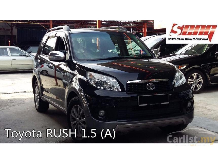 Toyota Rush Used Car Malaysia
