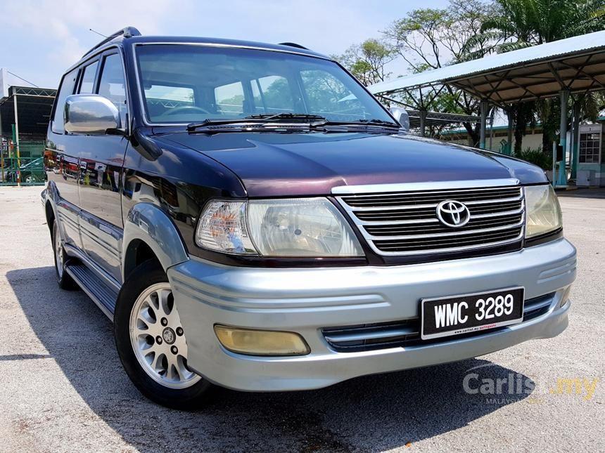 2005 Toyota Unser LGX MPV