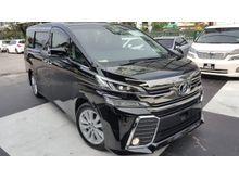 2015 Toyota Vellfire 2.5 ZA 7 SEATER UNREG