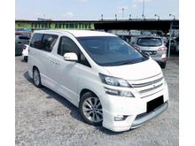 2009 Toyota Vellfire 3.5 MPV FULL SPEC 2POWER DOOR POWER BOOT