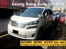 (ACTUAL YR MADE 2OO8)(VL FULL SPEC)(GST INCLU)(1 OWNER) (REG 2O1O)(TIPTOP)(MUST VIEW)(KL CHEARAS AREA) TOYOTA VELLFIRE 3.5 VL