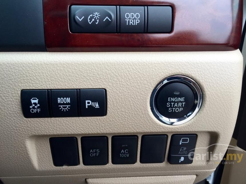 2008 Toyota Vellfire Z MPV