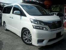 2014 Toyota Vellfire 2.4 Z MPV (CarKing) (AccidentFree) (OneOwner)