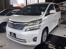 2008 Toyota Vellfire 3.5 V Home Theater Sound 3 Camera High Spec
