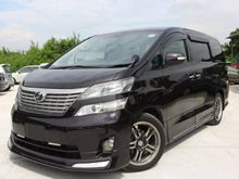 Toyota Vellfire 2.4(A)*RAYA PROMOTION* ELECTRIC SEAT*GPS*POWER DOOR