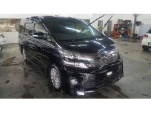 2014 Toyota Vellfire 2.4 ZG WITH SUNROOF, ZG-ED Bodykit. Pilot Seats. CALL US NOW FOR BEST DISCOUNT AND OFFER