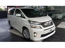2012 Toyota Vellfire 2.4 Z - PAKAGE KEYLESS ENTRY UNREG