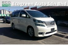 2010 Toyota Vellfire 2.4 ZG MPV - Perfect Condition