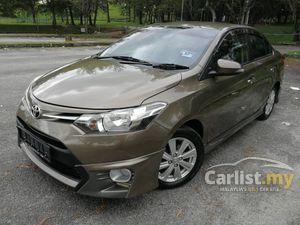 2015 Toyota Vios 1.5 E (A) PUSH START KEYLESS FULL TRD BODYKIT