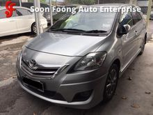 2012 Toyota Vios 1.5 G Limited Sedan