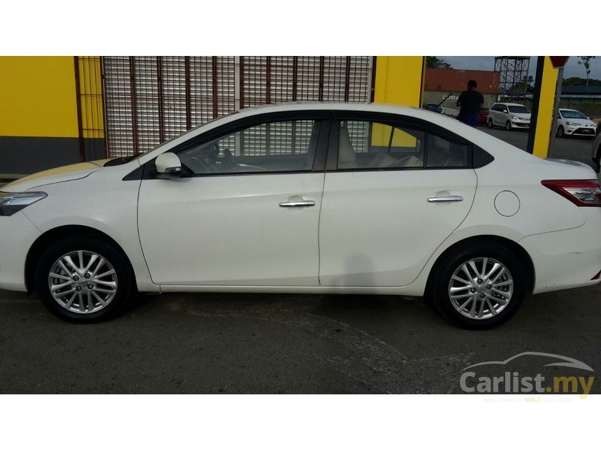 Toyota Vios 2014 G 1 5 In Labuan Automatic Sedan White For