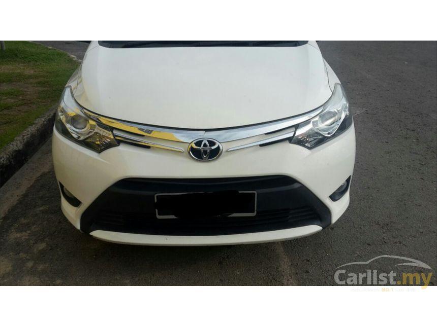 Toyota Vios 2014 G 1 5 In Labuan Automatic Sedan White For