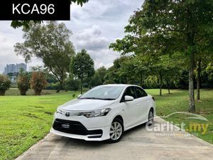2015 Toyota Vios 1.5 J Sedan HIGH LOAN AMOUNT HIGH TRADE IN VALUE CALL NOW GET FAST