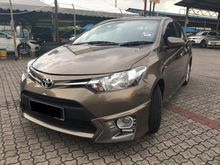 2015 TOYOTA VIOS 1.5(A)  $$ FULL LOAN $$ FREE WARRANTY ** NO FAKE YEAR ** THE BEST ECONOMY FUEL CONSUMPTION MODEL ** GUARANTEE CHEAPEST IN TOWN