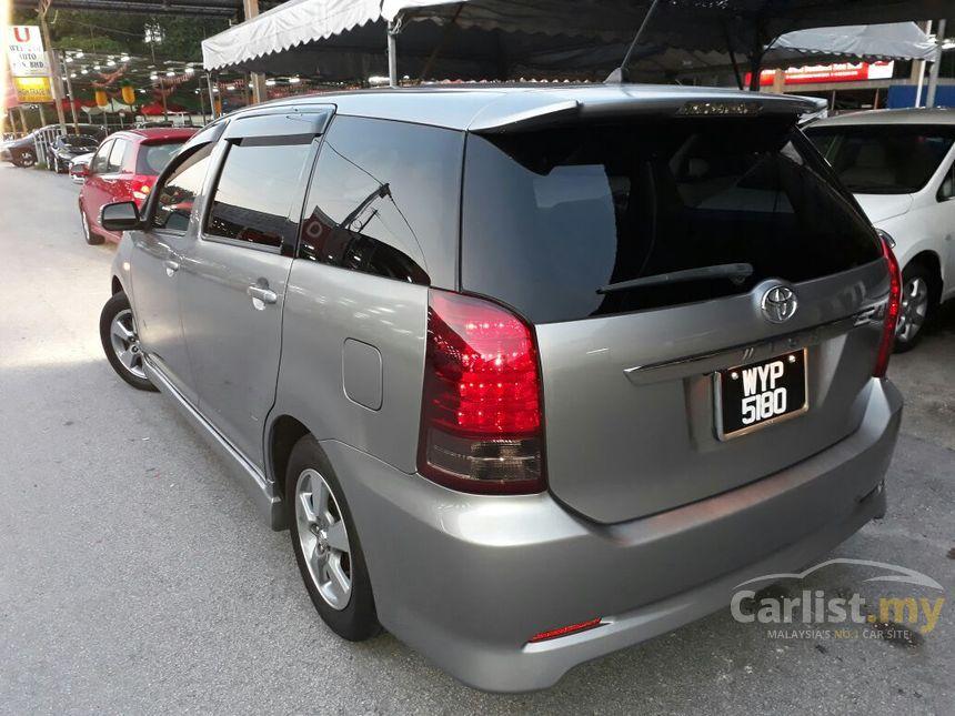 Toyota Wish 2008 1 8 In Kuala Lumpur Automatic Mpv Silver